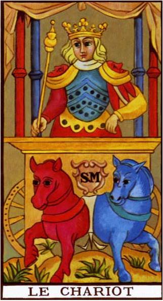 Photo of Tarot de Marsella: tarot arcano mayor EL CARRO