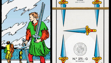 Photo of Significado e interpretación de cinco de espadas baraja española